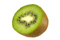 Kiwi fruit fresh isolated on the white background Royalty Free Stock Image