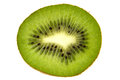 Kiwi fruit fresh isolated on the white background Stock Images