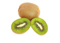 Kiwi Fruit isolated on white Royalty Free Stock Photography
