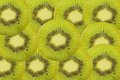 Kiwi fruit slice as background Royalty Free Stock Images