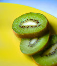 Kiwi Fruit Sliced Stock Image