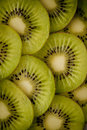 Kiwi fruit slices Stock Photo