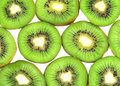 Kiwi fruit slices Royalty Free Stock Images