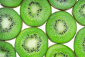 Kiwi fruits background Stock Photos