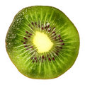 Kiwi isolated on white Stock Photo