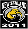 Kiwi rugby new zealand 2011 Stock Photo