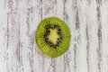Kiwi slice Royalty Free Stock Photo