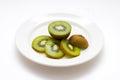 Kiwi sliced kiwi photo Royalty Free Stock Image