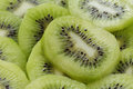 Kiwi slices close up organic fruits background Royalty Free Stock Image