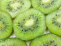 Kiwi slices closeup Royalty Free Stock Image