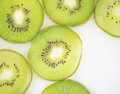 Kiwi slices pattern for template background Royalty Free Stock Photography