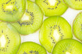 Kiwi slices pattern for template background Royalty Free Stock Images