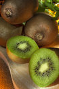 Kiwifruit chinese gooseberry the or is the edible berry of a woody vine in the genus actinidia Royalty Free Stock Photos
