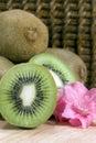 Kiwifruit - vertical Stock Photos
