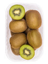 Kiwis in Basket Top Royalty Free Stock Image