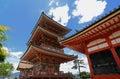 Kiyomizu-Dera Royalty Free Stock Photo