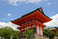 Kiyomizu-Dera Entrance Gate Royalty Free Stock Photo