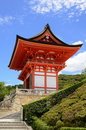 Kiyomizu-Dera Entrance Gate Royalty Free Stock Images