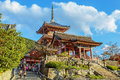 Kiyomizu dera temple in kyoto japan november japan on november founded heian period the present building was constructed Stock Photography