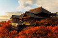 Kiyomizu dera temple in kyoto japan november japan on november founded heian period the present building was constructed Stock Photo