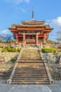 Kiyomizu dera temple in kyoto japan november japan on november founded heian period the present building was constructed Stock Image
