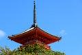 Kiyomizu-dera Temple in Kyoto, Japan,