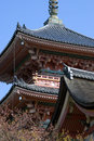 Kiyomizu temple kyoto japan pagoda of in Stock Photos