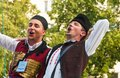 Klaipeda Lithuania - july 20th, 2018 International folklor fest Royalty Free Stock Photo
