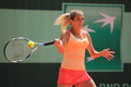 Klara Zakopalova - French open 2012 Royalty Free Stock Photography