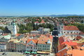 Klatovy scenery the of seen from black tower lookout czech republic Stock Photos