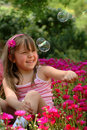 Klein meisje Stock Afbeelding