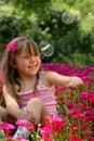 Kleines Mädchen Stockbild
