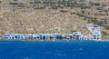 Klima village, Milos island, Cyclades, Greece Royalty Free Stock Photos