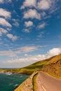 Klippe auf Dingle-Halbinsel, Irland Stockbild