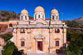Kloster agia triada monastery of of chania in crete greece Stock Photography