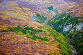 Kluane National Park and Reserve, Valley and Mountainside Views Royalty Free Stock Photo
