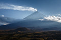 Klyuchevskaya sopka kliuchevskoi volcano on kamchatka highes highest mountain and the highest active of eurasia Stock Photography