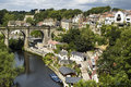 Knaresborough Yorshire uk Royalty Free Stock Photography