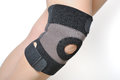 Knee support Stock Photo