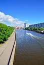 Kneiphof island and fishing village kaliningrad koenigsberg before russia view on the embankment of the river pregolya Royalty Free Stock Image