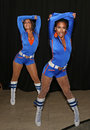 Knicks City Dancers Royalty Free Stock Image