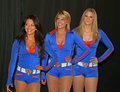 Knicks City Dancers Royalty Free Stock Images
