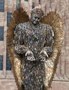 Knife Angel Sculpture in Coventry Royalty Free Stock Photo