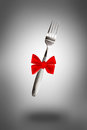 Knife fork and spoon on background Royalty Free Stock Images