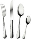 Knife, fork and spoons  Royalty Free Stock Images
