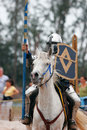 Knight in Armor 3 Stock Images