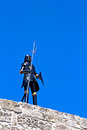 Knight armour at Rhodes Stock Image