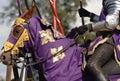 Knight on horse #1 Royalty Free Stock Photo