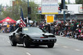 Knight rider Kitt car replica Royalty Free Stock Photo