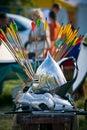 Knight's helmet Royalty Free Stock Photo